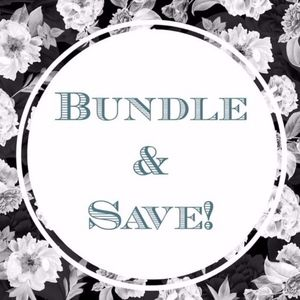 BUNDLE AND SAVE on two + items